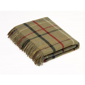 Country House - Check - Merino Lambswool - Litton Lovat Throw