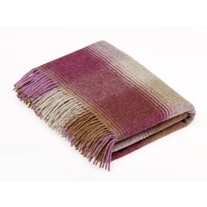 Shetland Berry - Check - Pure New Wool - Kilnsey Berry Throw