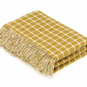 Athens - Lambswool - Gold Throw