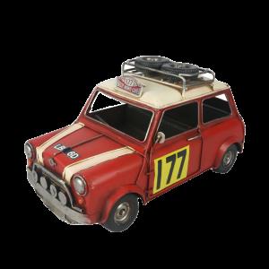 Red Mini 1967 Monte Carlo Rally 41cm