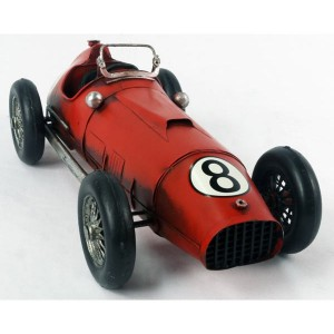 Red 1950s Racing Car 32cm