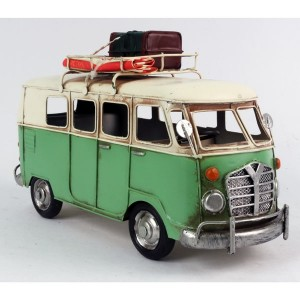 Green Camper Van Model