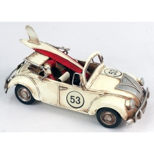 Classic Rally Convertible Model Car