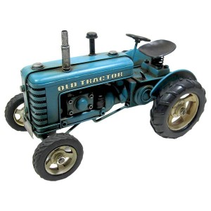 Blue Tractor 26.5cm