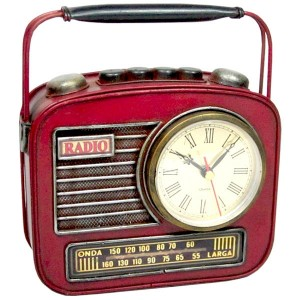 Radio Clock Coin Bank