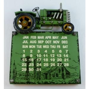 Tractor Wall Hanging Calendar