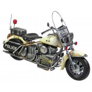 Police Motorcycle - 36cm