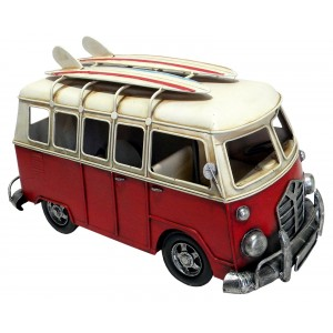 Red Camper Van - 40cm