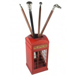 Telephone Box Umbrella Walking Stick Stand