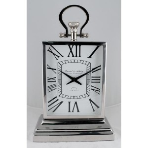LCD Clock Nickel - D&A
