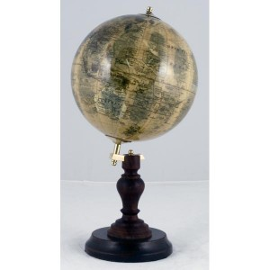 World Globe On Stand Dia 13cm