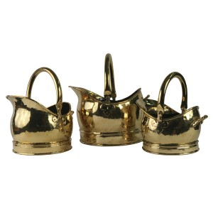 Classic Scuttle - Solid Brass (SMALL ONLY)