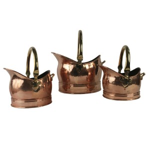 Classic Scuttle - Solid Copper (LARGE ONLY)