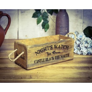 Vintage Box Small, Nights Watch - Game Of Thrones