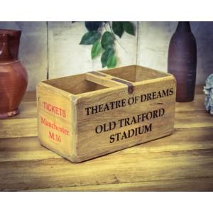 Vintage Medium Stadium Box, Old Trafford
