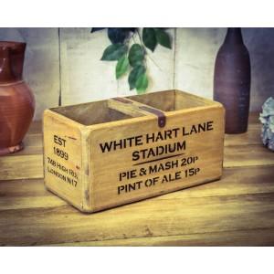 Vintage Medium Stadium Box, White Hart Lane