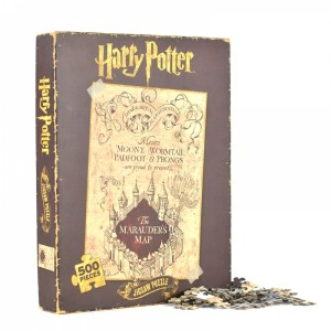 Harry Potter Marauders Map 1000 Piece Jigsaw Puzzle