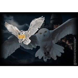 The Flying Hedwig Brooch