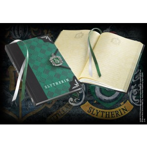 Slytherin Journal W/Enamel Metal Clasp