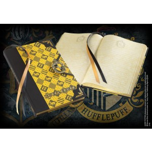 Hufflepuff Journal W/Enamel Metal Clasp