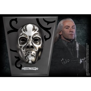 Luciuos Malfoy Mask With Wall Display