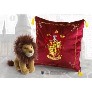 Plush Gryffindor House Mascot & Cushion