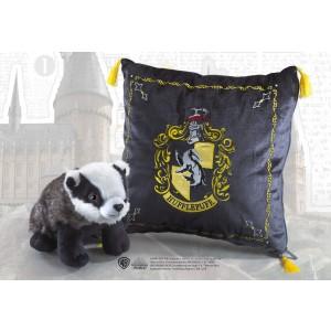 Plush Hufflepuff House Mascot & Cushion