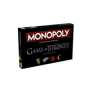 Game of Thrones Monopoly Board Game Collectors Edt