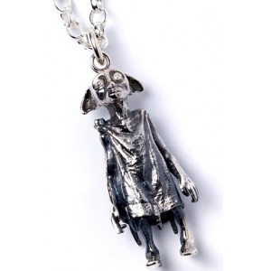 Official Harry Potter Dobby the House Elf Necklace Sterling Silver