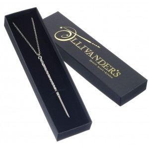 Hermione Granger Sterling Silver Wand Necklace