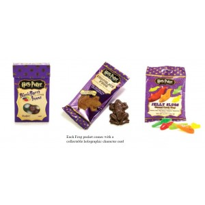 Harry Potter™ Milk Chocolate Frog, Jelly Slugs & Bertie Botts.