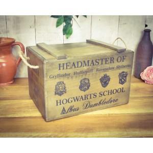 Vintage Chest Hogwarts Headmaster