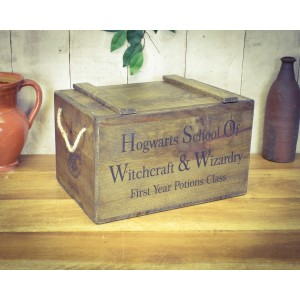 Vintage Chest, Hogwarts School of Witches & Wizardy - First Year Potions