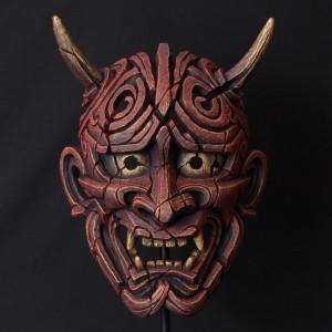 Hannya Mask (Antique Red)