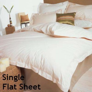 Percale 400 Count Single Flat Sheet
