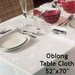 Ivy Leaf - Oblong Table Cloth (132x178cm)