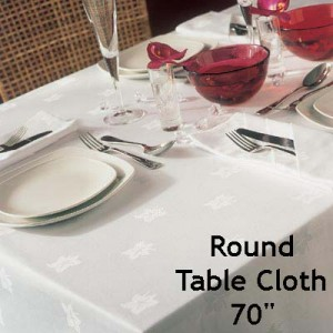 Ivy Leaf - Round Table Cloth (178cm)