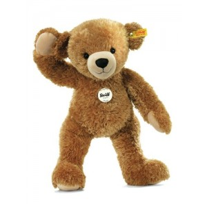 Steiff Happy Teddy Bear - Light Brown - Soft Plush - 20cm - 012648