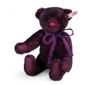 Steiff Anushka Teddy Bear - Bordeaux - Alpaca - 34cm - 034800
