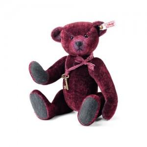 Steiff Basco Teddy Bear - Red Tipped - Mohair - 31cm - 034343