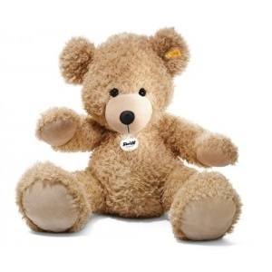 Steiff Fynn Teddy Bear - Beige - Soft Plush - 80cm - 111389