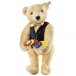 Croupier Teddy Bear