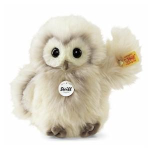 Steiff Wittie Owl - Cream - Soft Woven Fur - 14cm - 045622