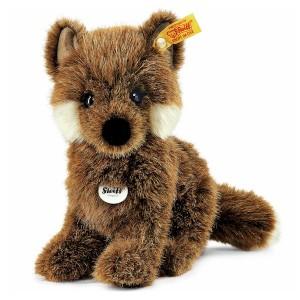 Steiff Fuxy Baby Fox - Brown - Soft Woven Fur - 18cm - 070136