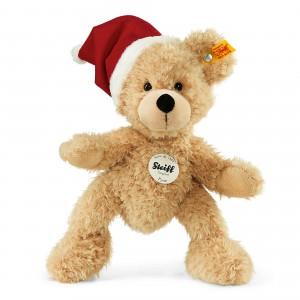 Fynn Teddy Bear - Santas Hat