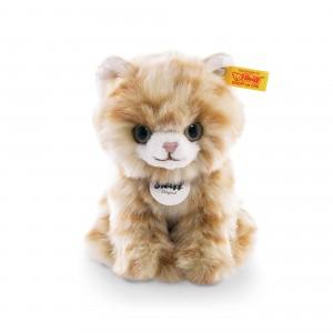 Steiff Lizzy Kitten - Red Tabby - Soft Plush - 17cm - 084027