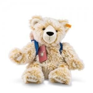 Steiff Around The World Bears - Lars, The Globetrotting Teddy Bear - Blond Tipped - Soft Plush - 38cm - 022166