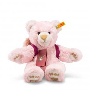Steiff Around The World Bears - Lula, The Globetrotting Teddy Bear - Pink - Soft Plush - 30cm - 022180