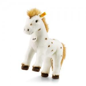Steiff Spotty Horse - White/Brown - Soft Plush - 30cm - 071287