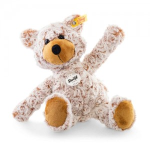 Steiff Charly Dangling Teddy Bear - Russet Tipped - Soft Plush - 28cm - 113345